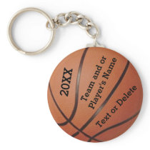 Cheap Basketball Keychains 3 Text Box Templates