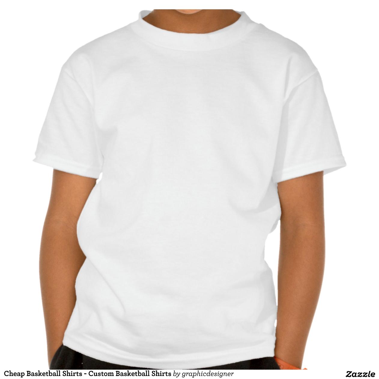 Cheap Basketball Shirts Custom Basketball Shirts Zazzle