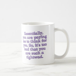 Cheap Bastard Coffee Mug