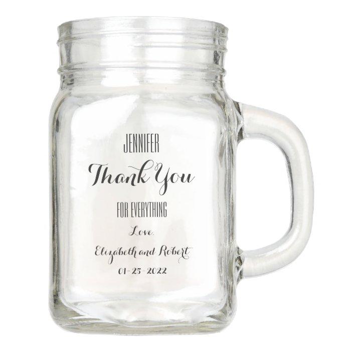 Cheap Gifts For Wedding Party: Cheap Bridal Party Gifts Mason Jar