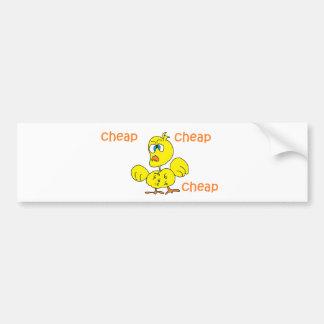 cheap cheap cheap bumper sticker