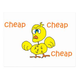 cheap cheap cheap postcard