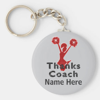 Cheap Cheer Coach Gifts PERSONALIZED Keychain