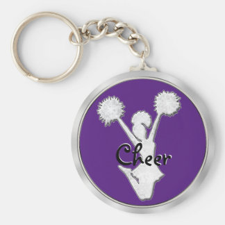 Cheap CHEER Keychains in Bulk Your Team COLORS