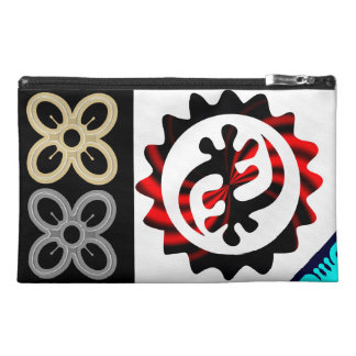 Cheap Cosmetic Bags With Unique African Symbols
