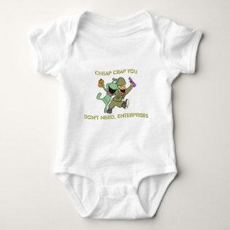 Cheap Crap You Don't Need, Enterprises Merchandise Baby Bodysuit