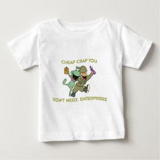 Cheap Crap You Don't Need, Enterprises Merchandise Baby T-Shirt