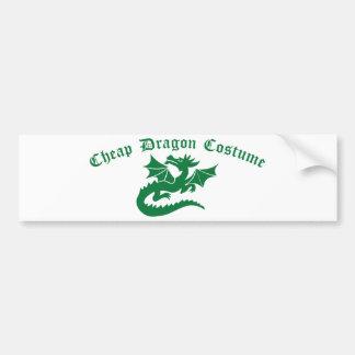 Cheap Dragon Costume Bumper Sticker