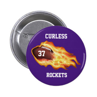 Cheap Football Gifts for Players with YOUR TEXT 2 Inch Round Button