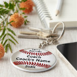 Cheap Gifts for Coaches Custom Baseball Keychains