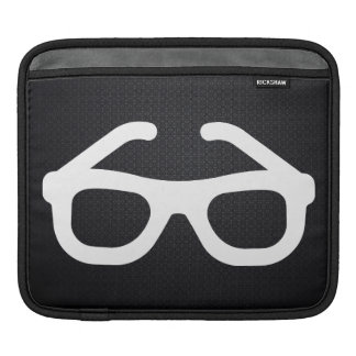 Cheap Glasses Pictograph Sleeve For iPads