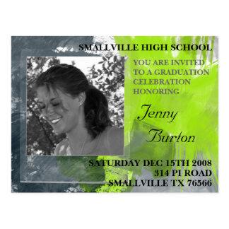 Cheap Graduation Invitations Custom Postcard