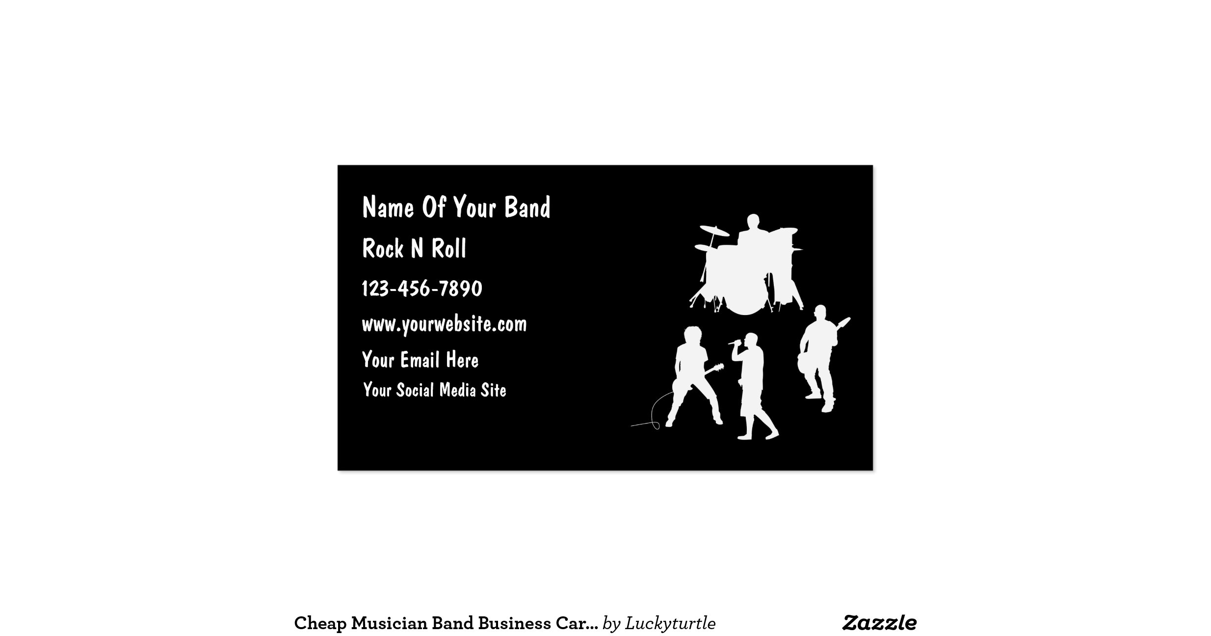 Band Business Cards | Unlimitedgamers.co