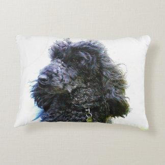 Cheap Old Poodle Pillow Accent Pillow