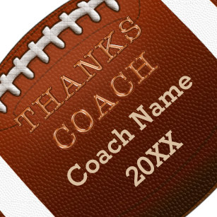 Cheap Personalized Football Coach Gift Ideas Keychain