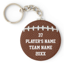 Cheap Personalized Football Gifts for Players BULK Keychain