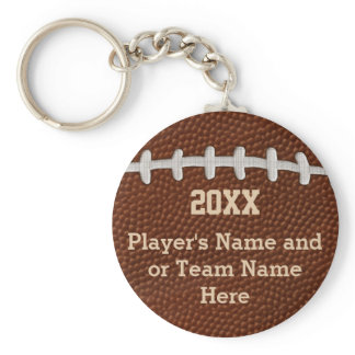 Cheap Personalized Football Gifts for Players Keychain