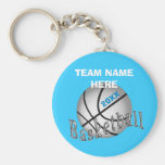 CHEAP Personalized Gifts for Girls Basketball Team Basic Round Button Keychain