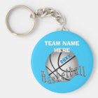 CHEAP Personalized Gifts for Girls Basketball Team Keychain