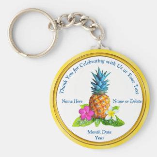 Cheap Personalized Hawaiian Party Favors Keychain