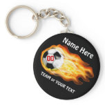 CHEAP Personalized Soccer Team Gifts Under $5.00 Keychain