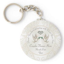 Cheap Personalized Wedding Gifts for Guests, BULK Keychain