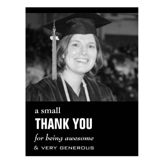 Cheap Photo Graduation Thank You Card