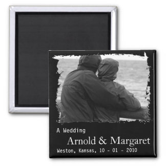 Cheap Photo Save the Date Magnet