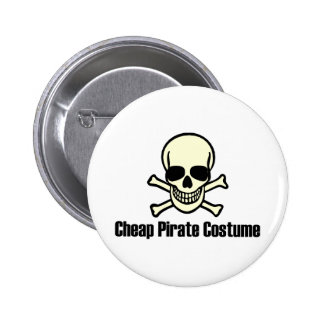 Cheap Pirate Costume Buttons