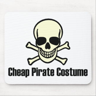 Cheap Pirate Costume Mouse Pad
