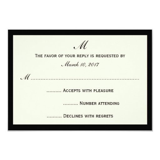 Cheap RSVP Invitation Cards Your...