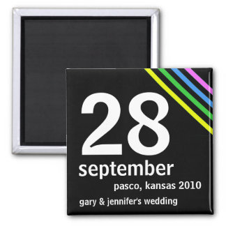 Cheap Save the Date Wedding Magnet
