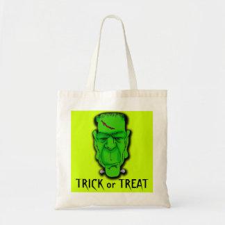 Cheap, Sturdy Frankenstein Trick or Treat Bag