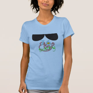 Cheap Sunglasses Ladies Tee - Pale Blue