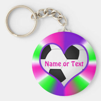 Cheap Super Cute Soccer Keychains PERSONALIZED