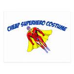 Cheap Superhero Costume Post Card