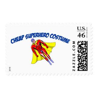 Cheap Superhero Costume Stamps