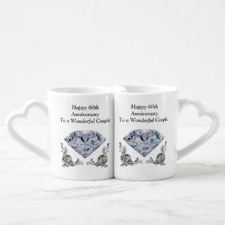 Cheap Unique Diamond Wedding Anniversary Gifts Couples Coffee Mug