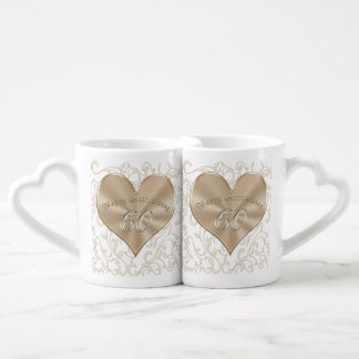 Cheap, Unique Sixtieth Wedding Anniversary Gifts Coffee Mug Set