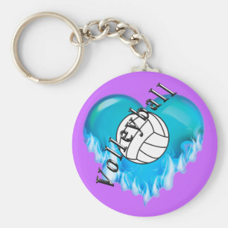 Cheap Volleyball Gifts BULK Volleyball Keychains