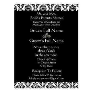 cheap wedding invitation postcards - Wedding Invitation Postcards