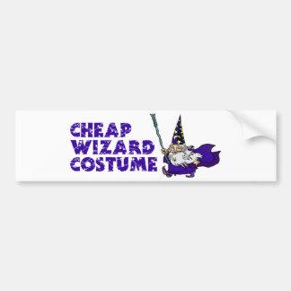 Cheap Wizard Costume Bumper Stickers