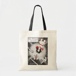 'Cheaper & Quicker Than Divorce' tote bag