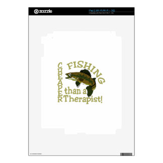 Cheaper Than A Therapist Skin For iPad 2