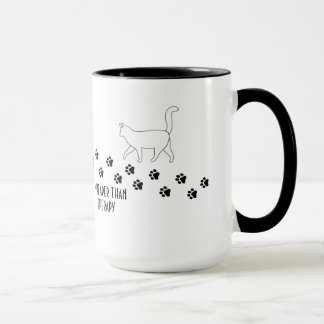 Cheaper Than Therapy Cat Owner Mugs