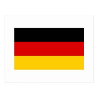Cheapest German flag Postcard