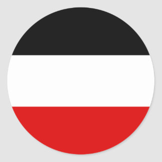 Cheapest German imperial flag Classic Round Sticker