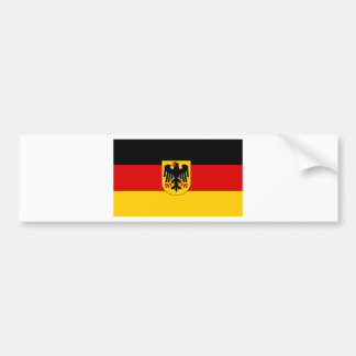 Cheapest German state flag Car Bumper Sticker