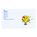 Cheapo Chicken Business Card Template