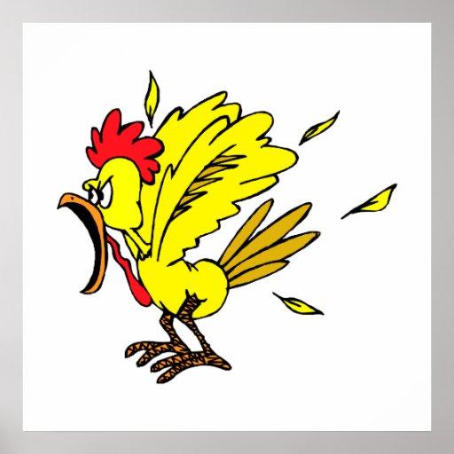 Cheapo Chicken Print